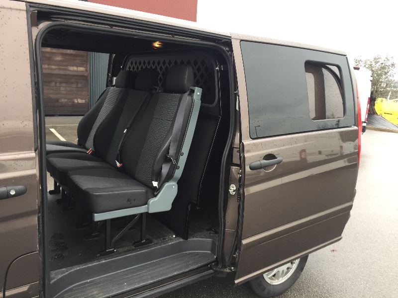 mercedes vito 122 cdi long 2t8 v6 220 cv 5 places cabine approfondie vendre photo 5. Black Bedroom Furniture Sets. Home Design Ideas